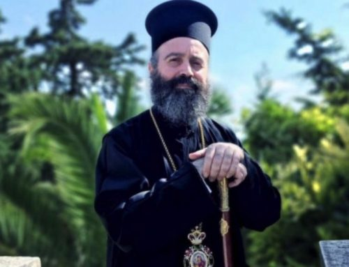 The first visit of His Eminence Archbishop Makarios